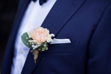 Vakkert bryllup på Kongsvinger Festning