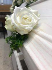 Blomster og begravelse